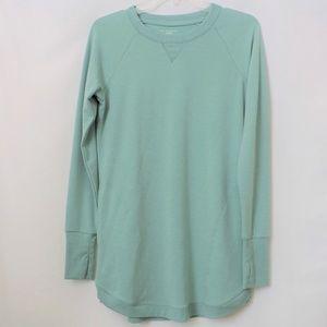 Tek Gear DryTEK Soft Green Sweatshirt Dress